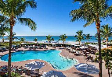 Sea front hotel in Sarasota